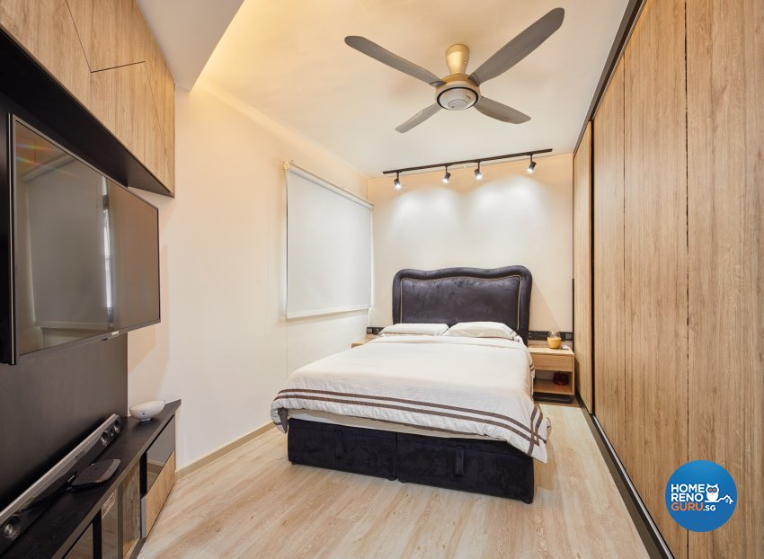 Scandinavian Design - Bedroom - HDB Executive Apartment - Design by Absolook Interior Design Pte Ltd