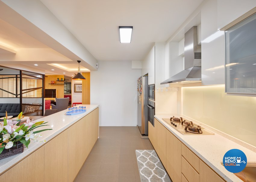 Contemporary, Scandinavian Design - Kitchen - HDB 5 Room - Design by Absolook Interior Design Pte Ltd
