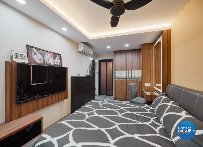 Contemporary, Scandinavian Design - Bedroom - HDB 5 Room - Design by Absolook Interior Design Pte Ltd