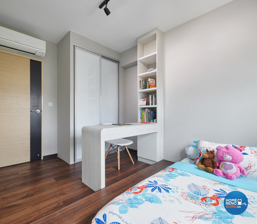Industrial, Scandinavian Design - Bedroom - HDB 4 Room - Design by Absolook Interior Design Pte Ltd