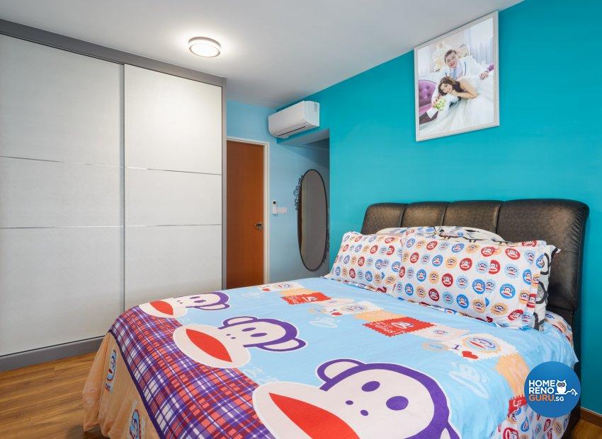 Minimalist, Modern Design - Bedroom - HDB 5 Room - Design by Absolook Interior Design Pte Ltd