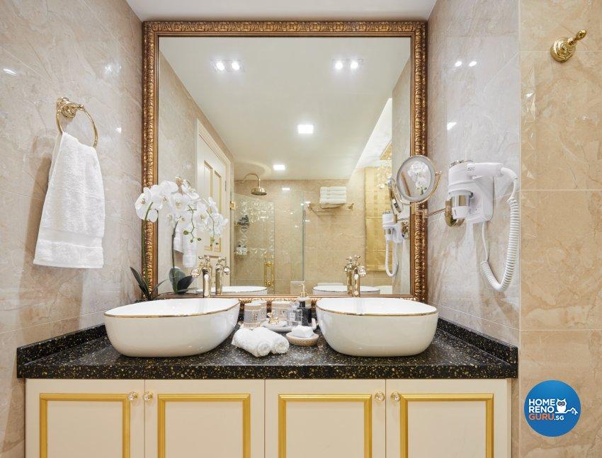 Modern, Victorian Design - Bathroom - Condominium - Design by Absolook Interior Design Pte Ltd