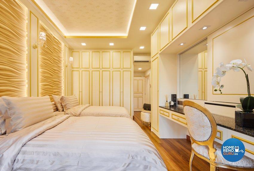Modern, Victorian Design - Bedroom - Condominium - Design by Absolook Interior Design Pte Ltd