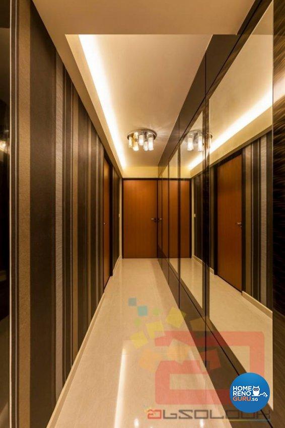 Contemporary, Modern Design - Balcony - HDB 4 Room - Design by Absolook Interior Design Pte Ltd