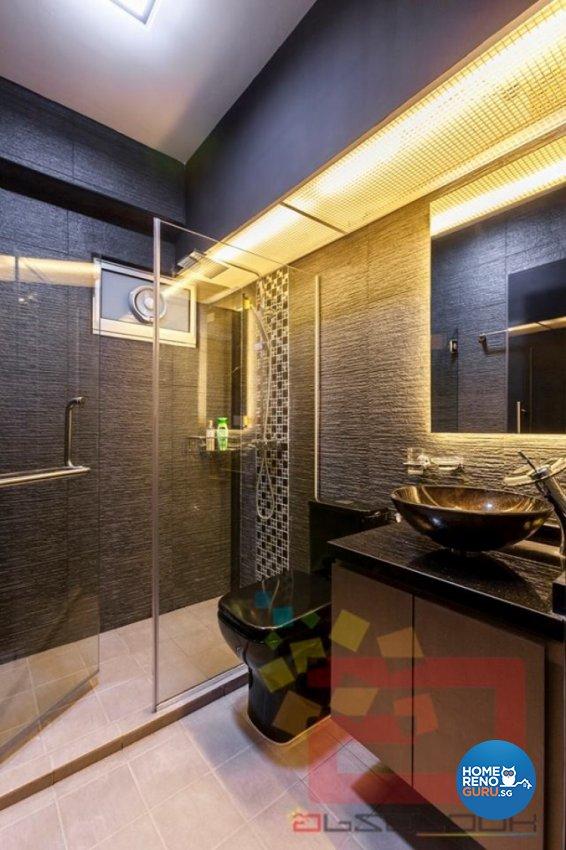 Contemporary, Modern Design - Bathroom - HDB 4 Room - Design by Absolook Interior Design Pte Ltd