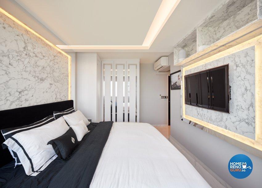 Modern Design - Bedroom - HDB 5 Room - Design by Absolook Interior Design Pte Ltd