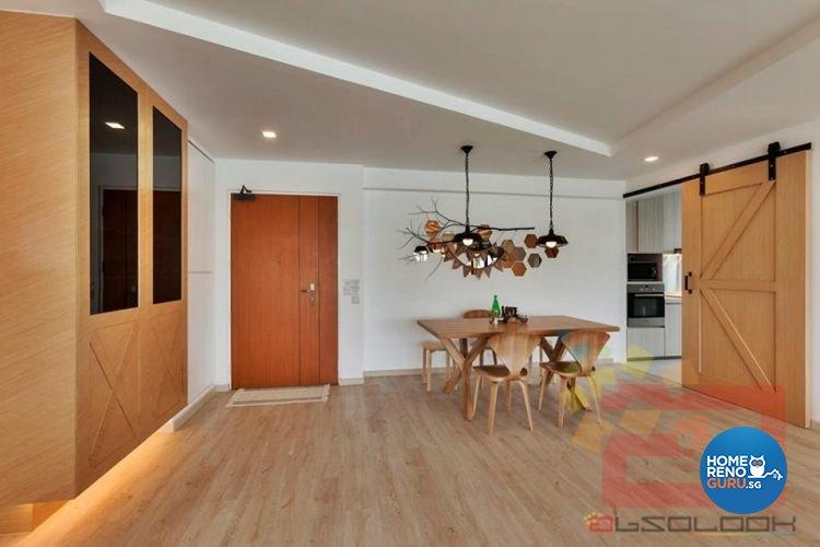 Contemporary, Minimalist, Scandinavian Design - Dining Room - HDB 5 Room - Design by Absolook Interior Design Pte Ltd