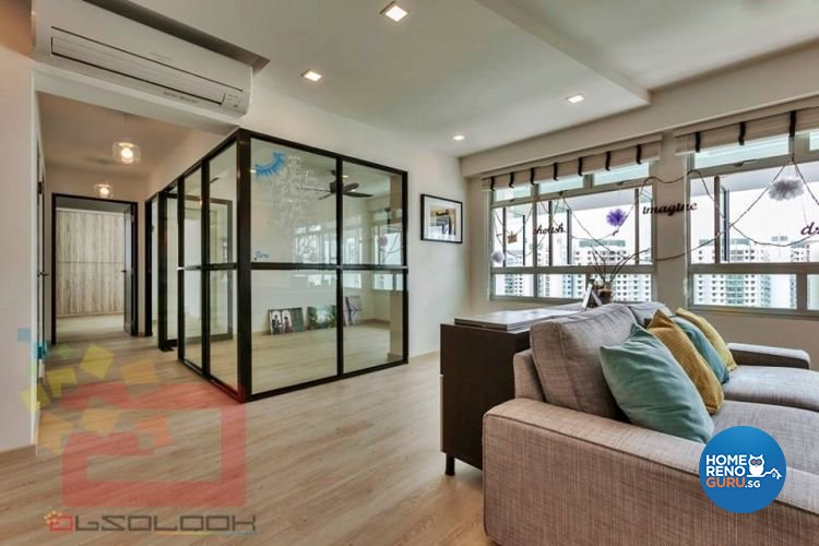 Contemporary, Minimalist, Scandinavian Design - Study Room - HDB 5 Room - Design by Absolook Interior Design Pte Ltd