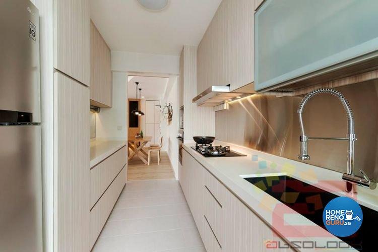 Contemporary, Minimalist, Scandinavian Design - Kitchen - HDB 5 Room - Design by Absolook Interior Design Pte Ltd