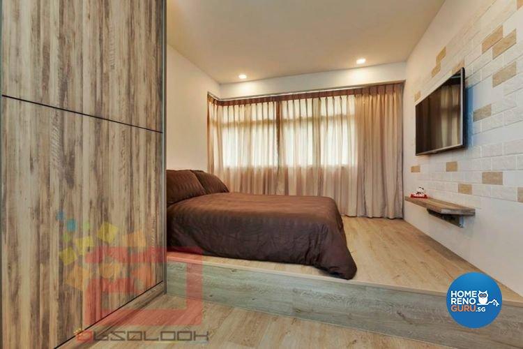 Contemporary, Minimalist, Scandinavian Design - Bedroom - HDB 5 Room - Design by Absolook Interior Design Pte Ltd