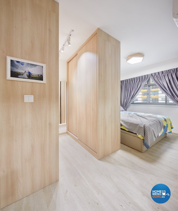 Contemporary, Scandinavian Design - Bedroom - HDB 4 Room - Design by Absolook Interior Design Pte Ltd