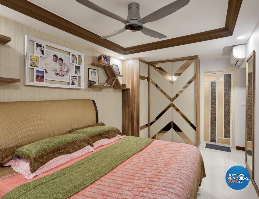 Contemporary Design - Bedroom - HDB 5 Room - Design by Absolook Interior Design Pte Ltd