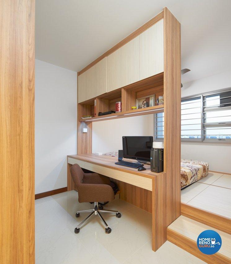 Contemporary Design - Bedroom - HDB 4 Room - Design by Absolook Interior Design Pte Ltd