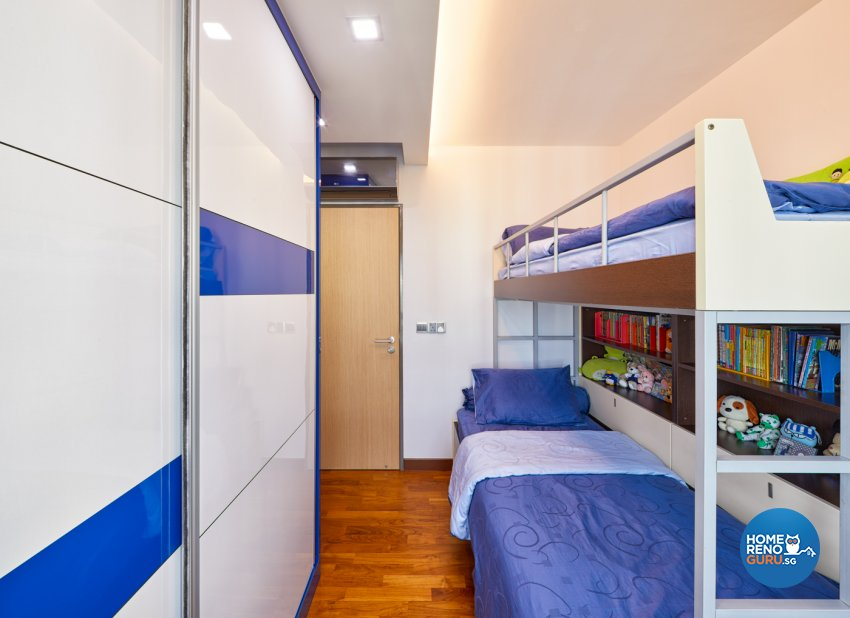 Modern Design - Bedroom - HDB 4 Room - Design by Absolook Interior Design Pte Ltd