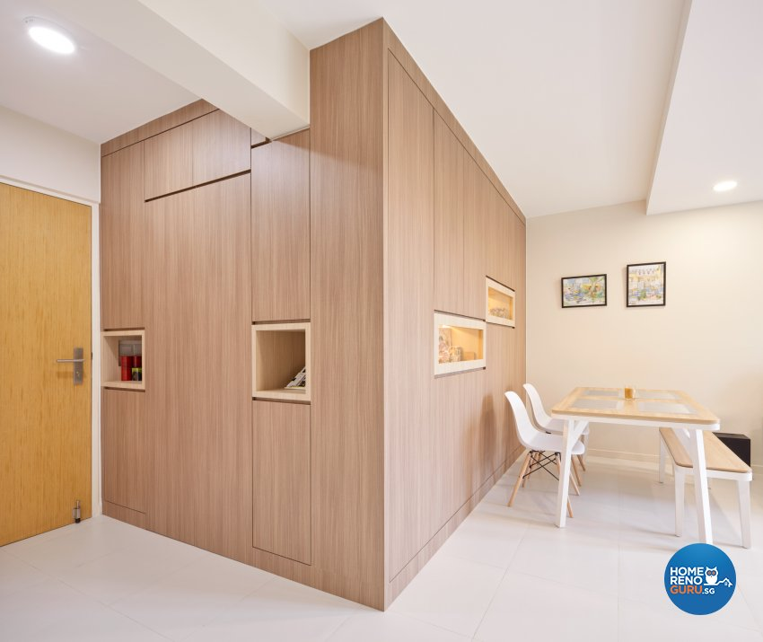 Scandinavian Design - Living Room - HDB 4 Room - Design by Absolook Interior Design Pte Ltd