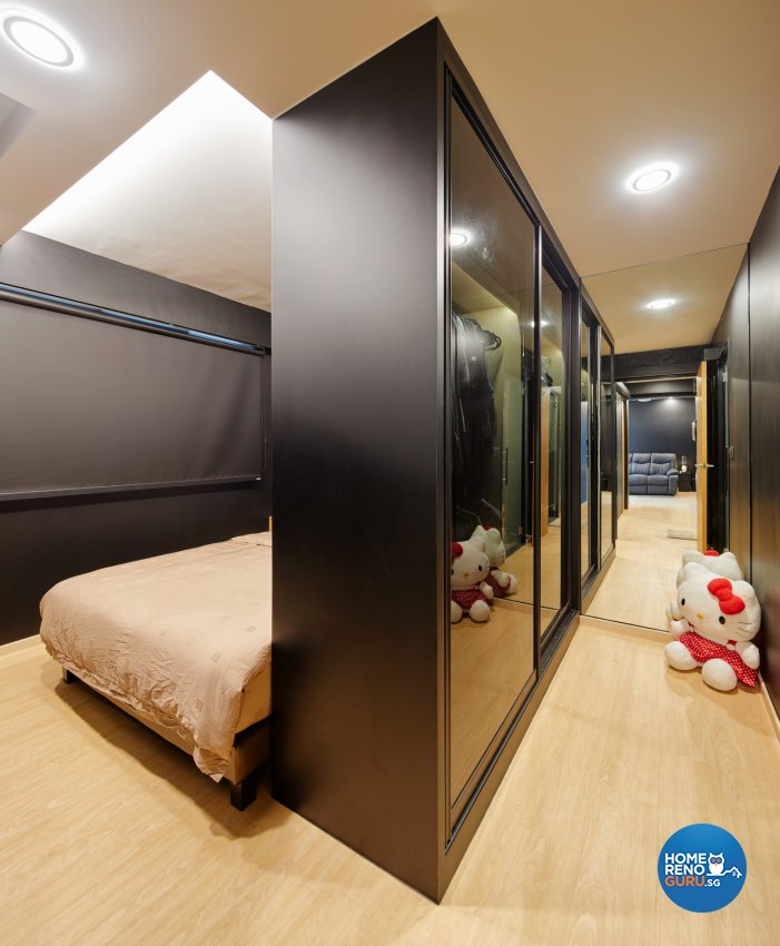 Modern, Scandinavian Design - Bedroom - HDB 3 Room - Design by Absolook Interior Design Pte Ltd