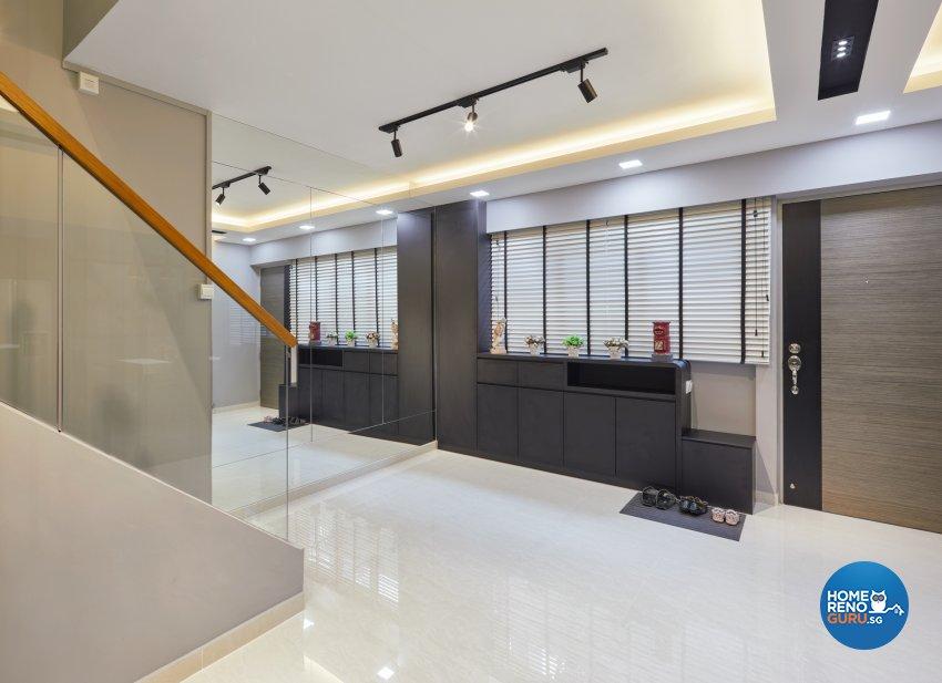 Modern, Scandinavian Design - Living Room - HDB Executive Apartment - Design by Absolook Interior Design Pte Ltd