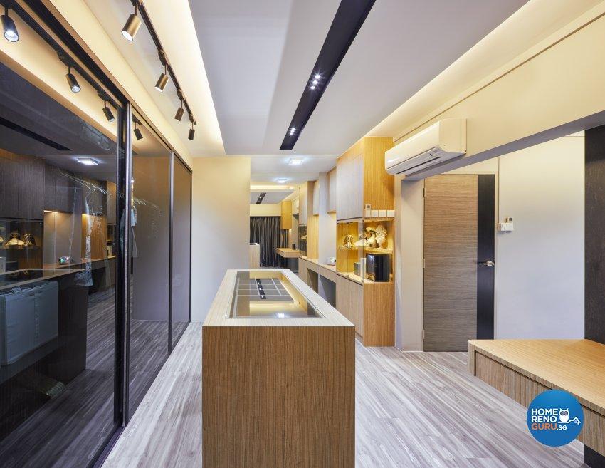 Modern, Scandinavian Design - Bedroom - HDB Executive Apartment - Design by Absolook Interior Design Pte Ltd