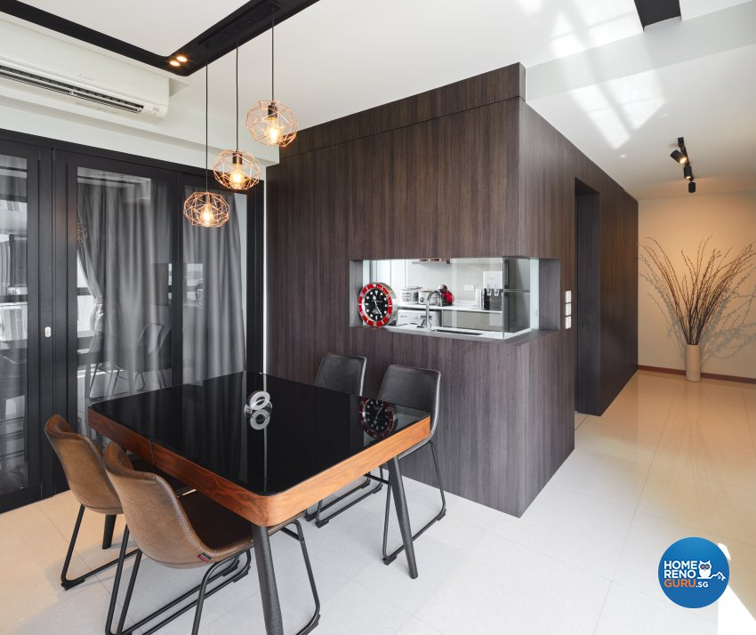 Contemporary Design - Dining Room - Condominium - Design by Absolook Interior Design Pte Ltd