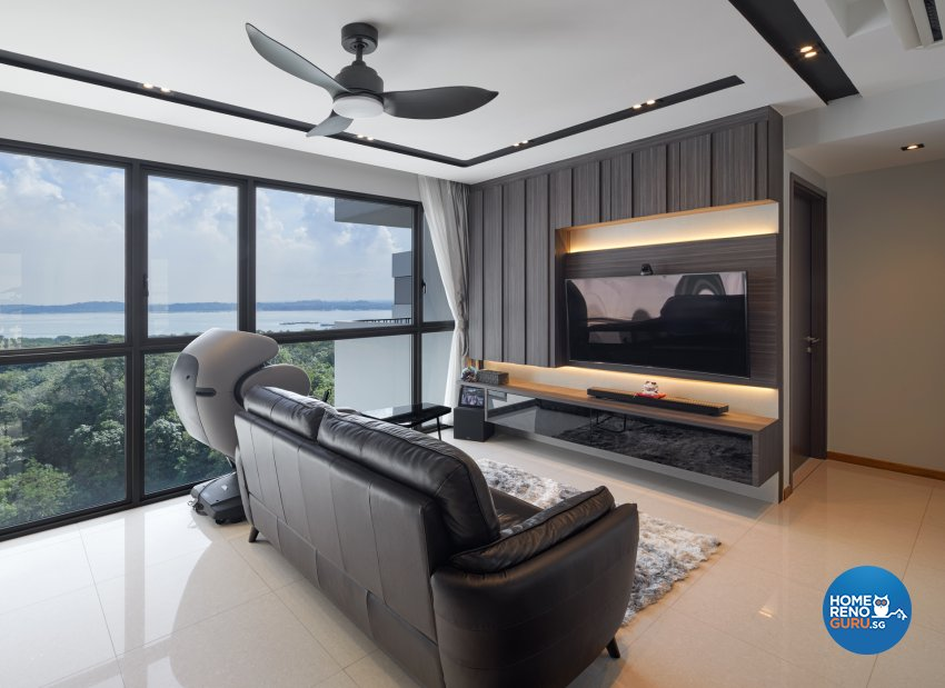 Contemporary Design - Living Room - Condominium - Design by Absolook Interior Design Pte Ltd