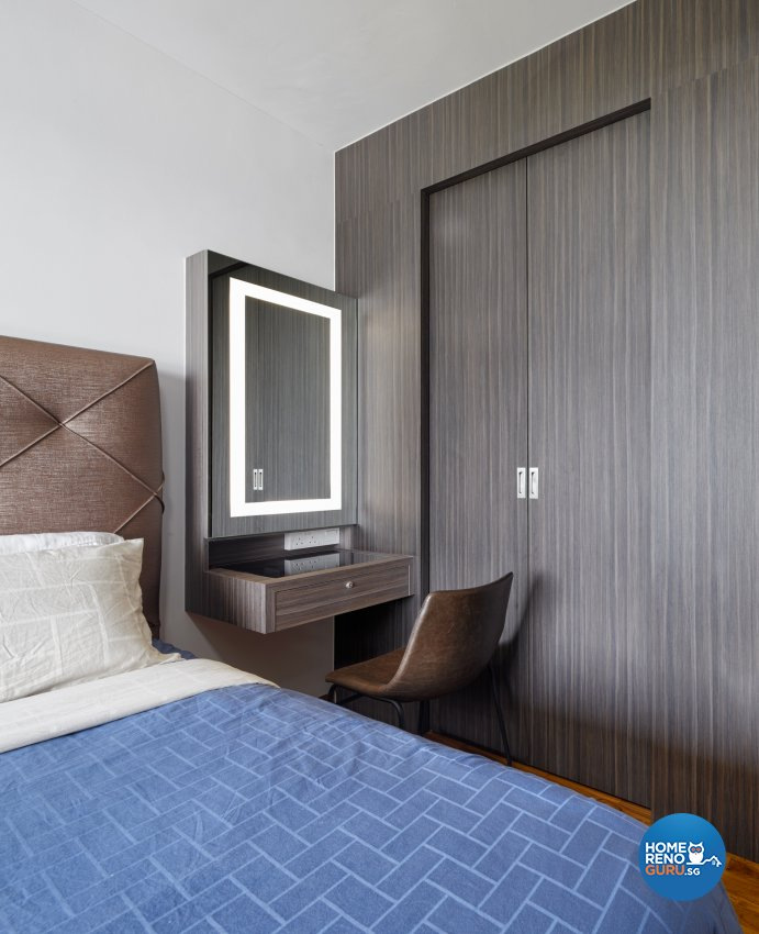 Contemporary Design - Bedroom - Condominium - Design by Absolook Interior Design Pte Ltd