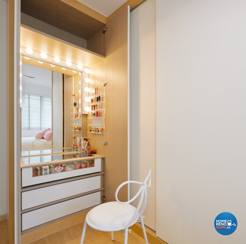 Scandinavian Design - Bedroom - HDB 4 Room - Design by Absolook Interior Design Pte Ltd