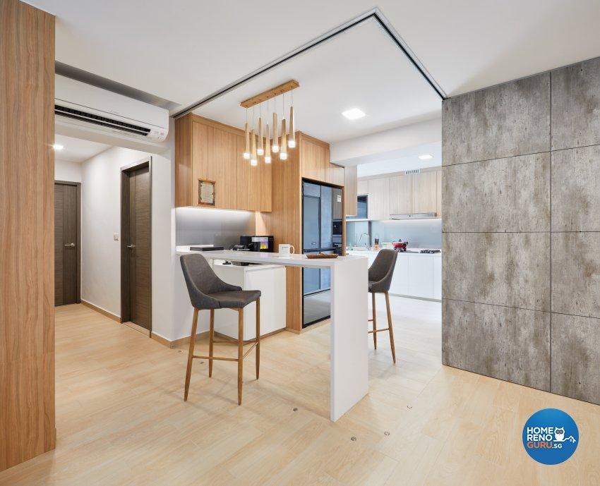 Contemporary, Modern, Scandinavian Design - Dining Room - HDB 5 Room - Design by Absolook Interior Design Pte Ltd