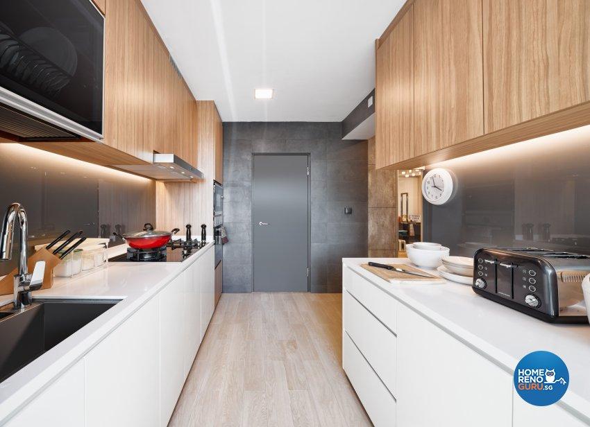 Contemporary, Modern, Scandinavian Design - Kitchen - HDB 5 Room - Design by Absolook Interior Design Pte Ltd