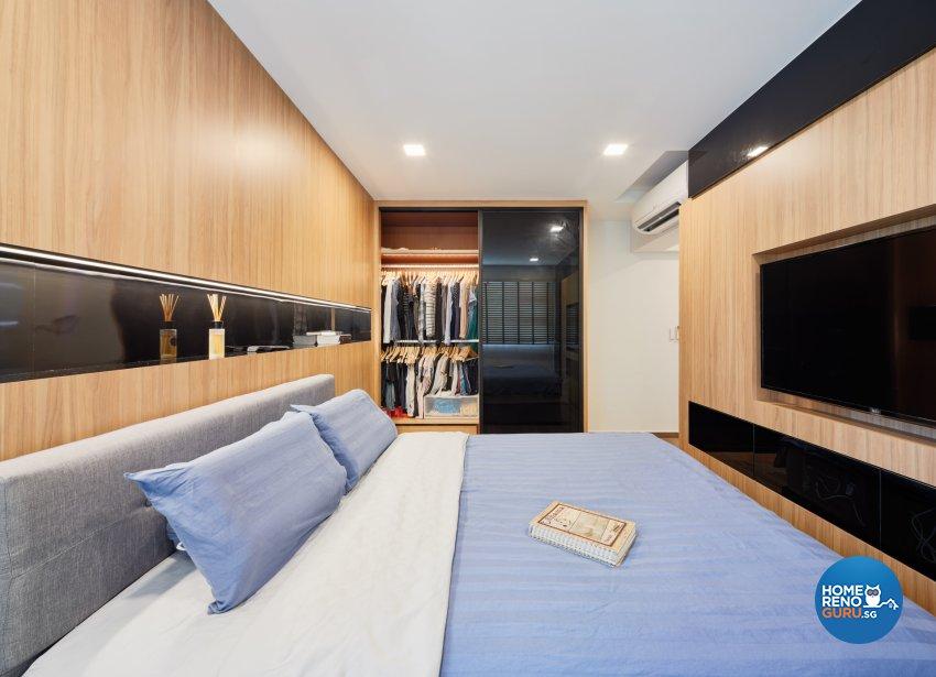 Contemporary, Modern, Scandinavian Design - Bedroom - HDB 5 Room - Design by Absolook Interior Design Pte Ltd