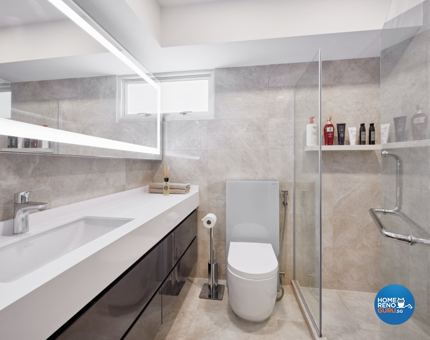 Contemporary, Modern, Scandinavian Design - Bathroom - HDB 5 Room - Design by Absolook Interior Design Pte Ltd