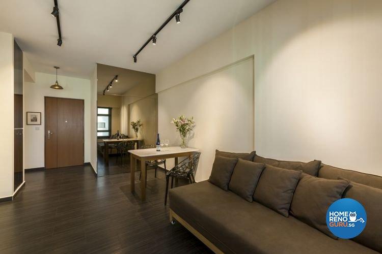 Minimalist modern scandinavian design living room others design by absolook interior