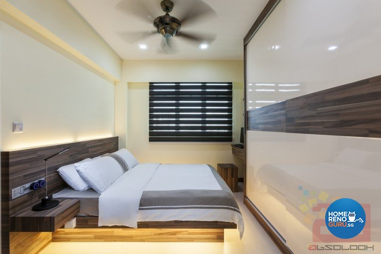 Contemporary, Minimalist, Modern Design - Bedroom - HDB 3 Room - Design by Absolook Interior Design Pte Ltd
