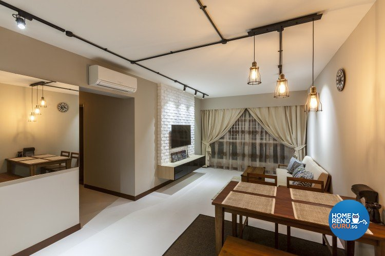Absolook Interior Design Pte Ltd Hdb 4 Room 175a Yung