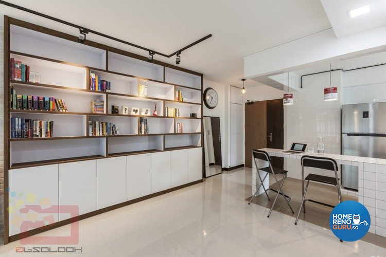 Contemporary, Modern, Scandinavian Design - Dining Room - HDB 4 Room - Design by Absolook Interior Design Pte Ltd