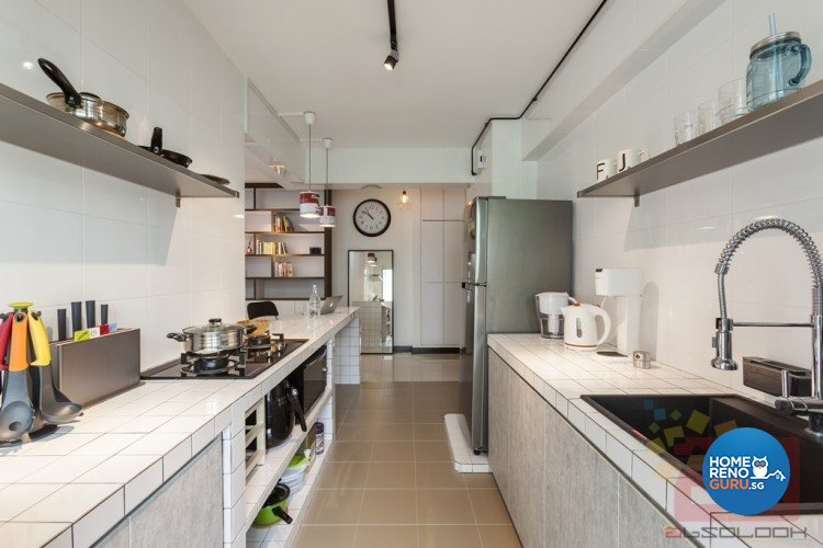 Contemporary, Modern, Scandinavian Design - Kitchen - HDB 4 Room - Design by Absolook Interior Design Pte Ltd