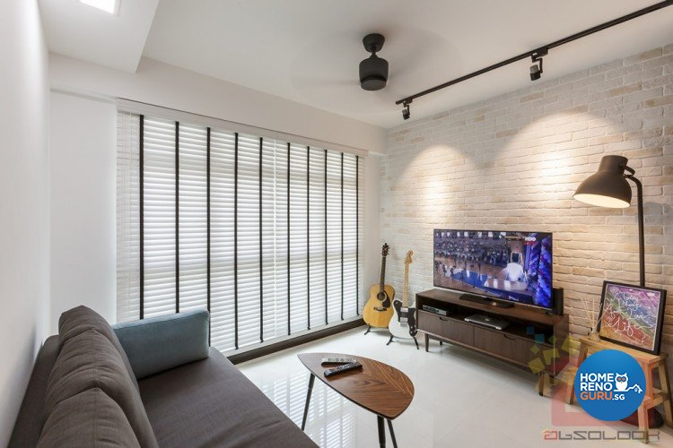 Contemporary, Modern, Scandinavian Design - Living Room - HDB 4 Room - Design by Absolook Interior Design Pte Ltd