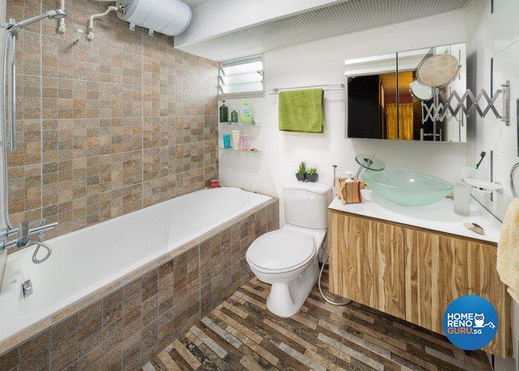 Contemporary, Modern, Scandinavian Design - Bathroom - HDB 4 Room - Design by Absolook Interior Design Pte Ltd