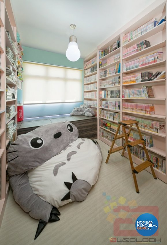 Contemporary, Modern, Scandinavian Design - Entertainment Room - HDB 4 Room - Design by Absolook Interior Design Pte Ltd