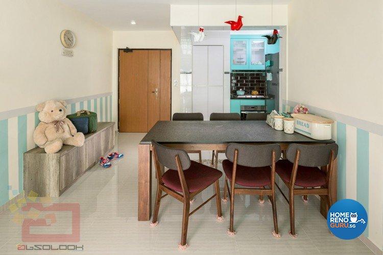 Contemporary, Modern, Scandinavian Design - Dining Room - HDB 4 Room - Design by Absolook Interior Design Pte Ltd