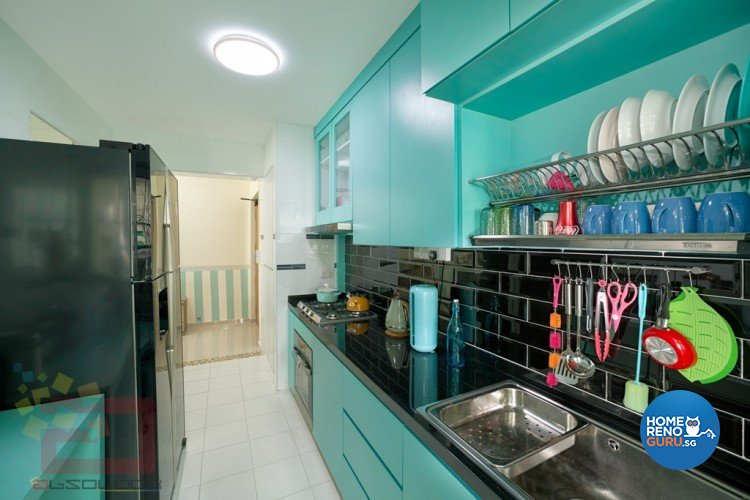 Contemporary, Modern, Scandinavian Design - Kitchen - HDB 4 Room - Design by Absolook Interior Design Pte Ltd
