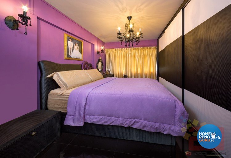 Contemporary, Modern, Scandinavian Design - Bedroom - HDB 4 Room - Design by Absolook Interior Design Pte Ltd