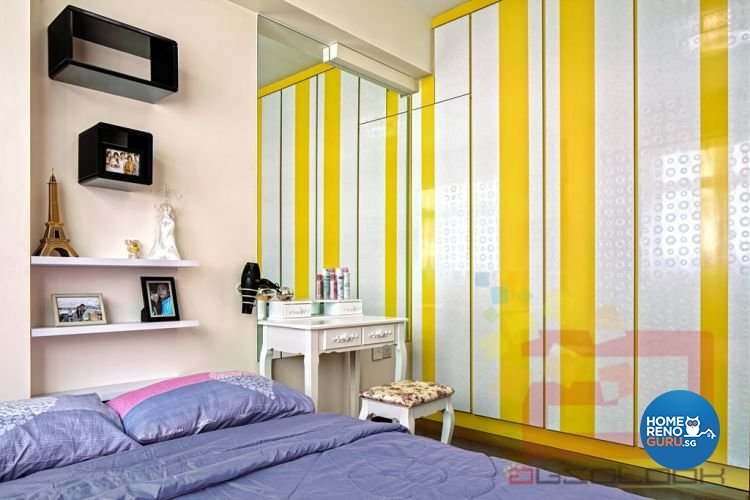 Contemporary, Modern Design - Bedroom - HDB 4 Room - Design by Absolook Interior Design Pte Ltd