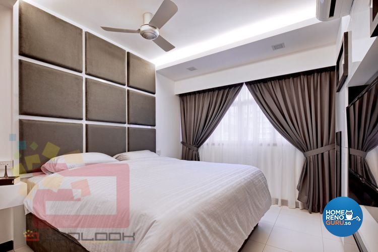 Contemporary, Minimalist, Modern Design - Bedroom - HDB 4 Room - Design by Absolook Interior Design Pte Ltd