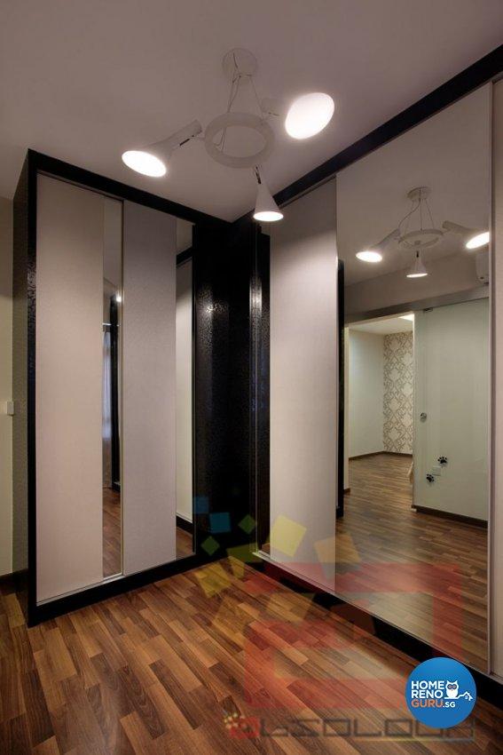 Contemporary, Minimalist, Modern Design - Bedroom - HDB 4 Room - Design by Absolook Interior Design Pte Ltd