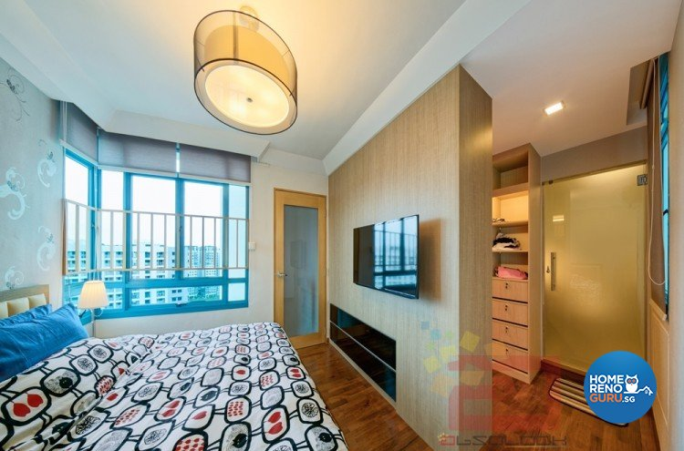 Contemporary, Minimalist, Modern Design - Bedroom - HDB Executive Apartment - Design by Absolook Interior Design Pte Ltd
