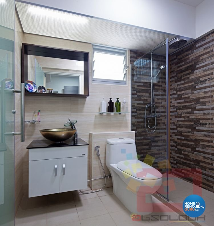 Contemporary, Minimalist, Modern Design - Bathroom - HDB 5 Room - Design by Absolook Interior Design Pte Ltd