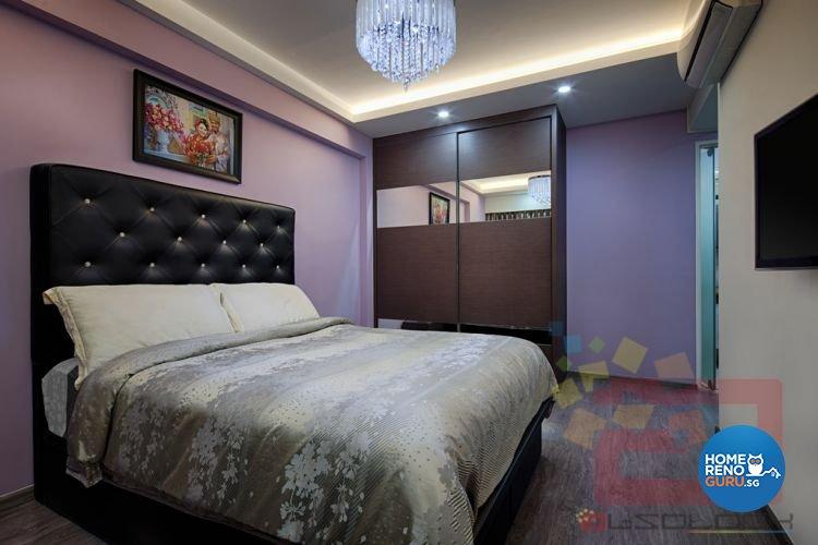 Contemporary, Minimalist, Modern Design - Bedroom - HDB 5 Room - Design by Absolook Interior Design Pte Ltd