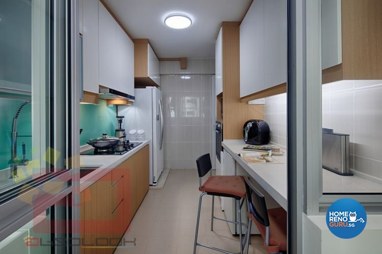 Contemporary, Minimalist, Modern Design - Kitchen - HDB 5 Room - Design by Absolook Interior Design Pte Ltd