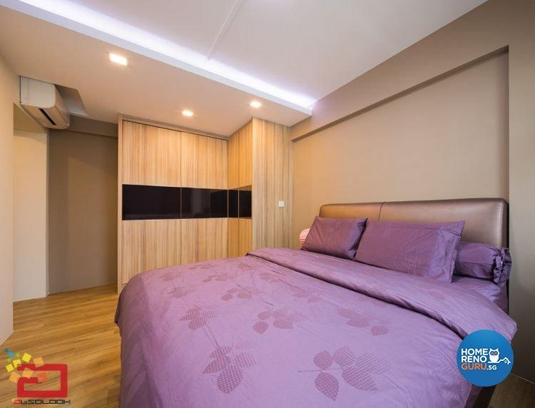 Contemporary, Minimalist, Modern, Scandinavian Design - Bedroom - HDB 5 Room - Design by Absolook Interior Design Pte Ltd