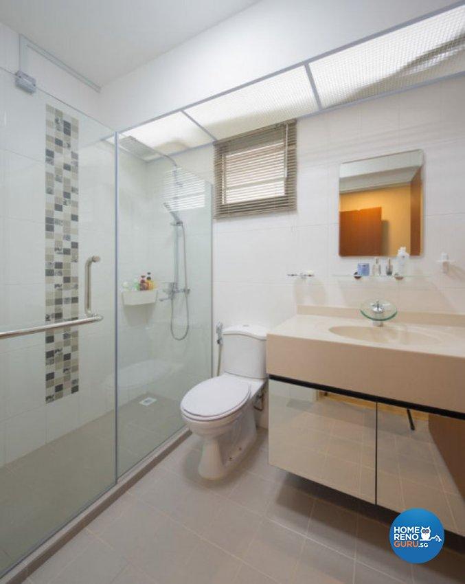 Contemporary, Minimalist, Modern, Scandinavian Design - Bathroom - HDB 5 Room - Design by Absolook Interior Design Pte Ltd